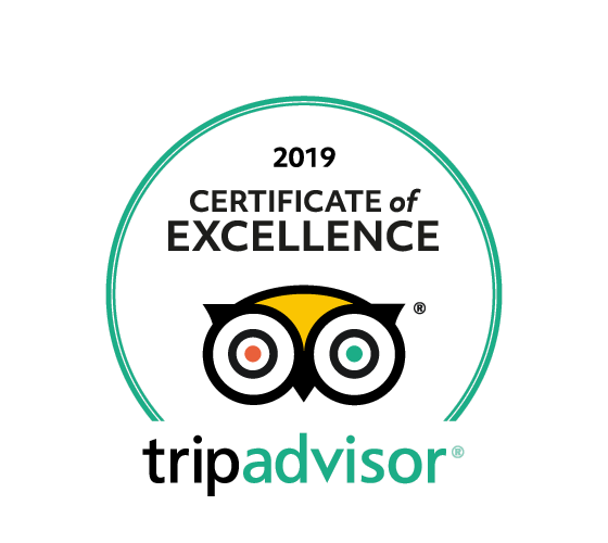 TripAdvisor – Certificate of Excellence 2019